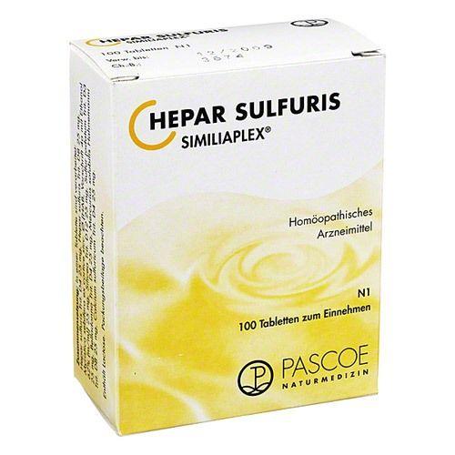 Hepar sulfuris