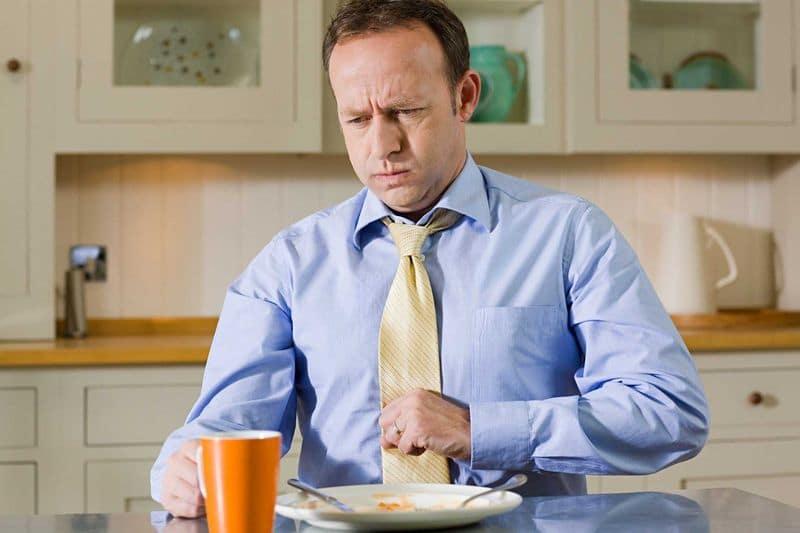 Почему после еды поднимается давление