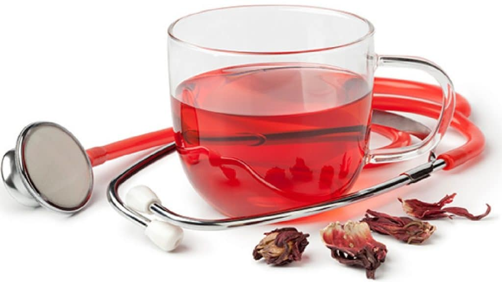 Чай из каркаде при давлении