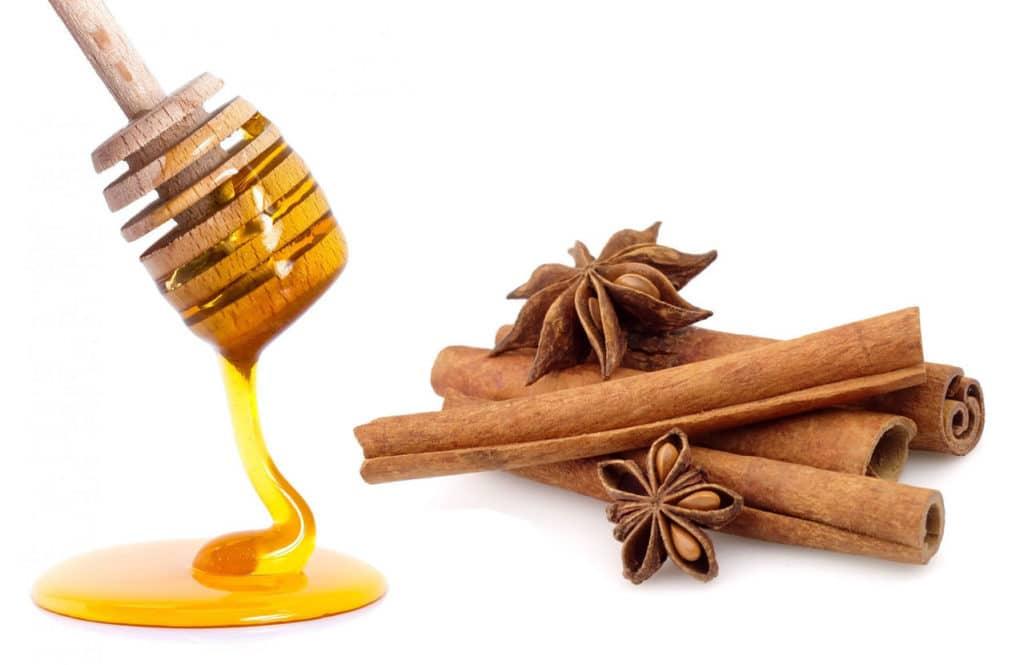 Корица с медом при давлении
