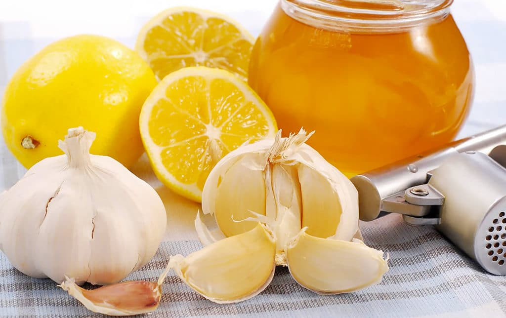 Мед, чеснок и лимон при гипертонии