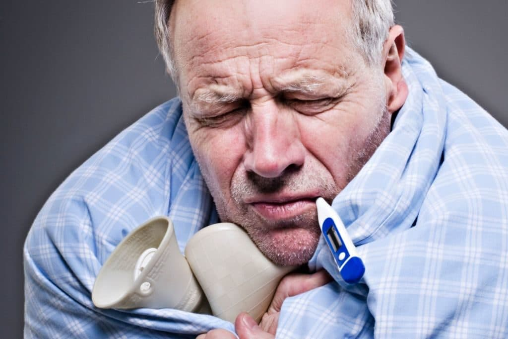 Озноб при простуде