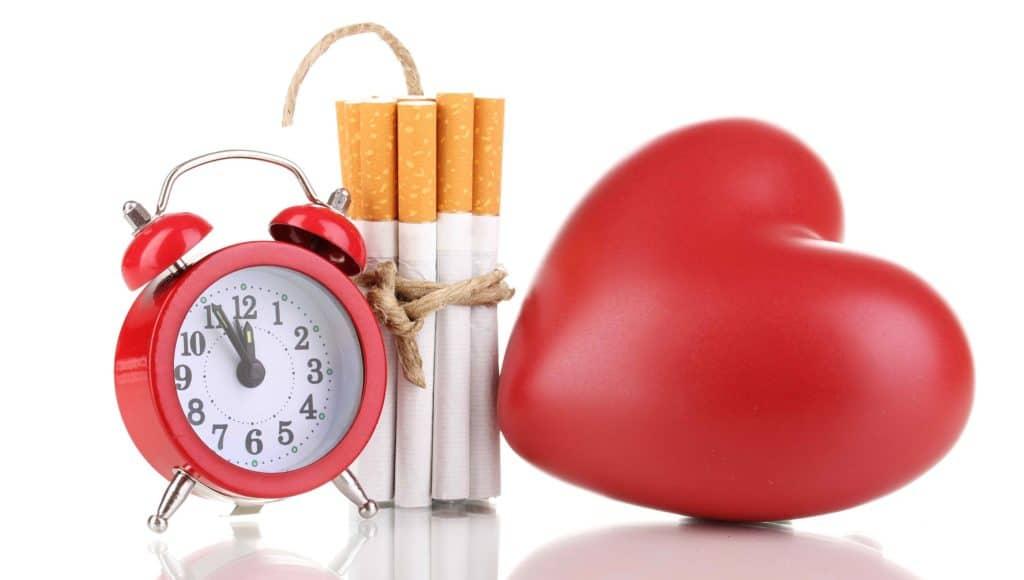 Влияние сигарет на давление