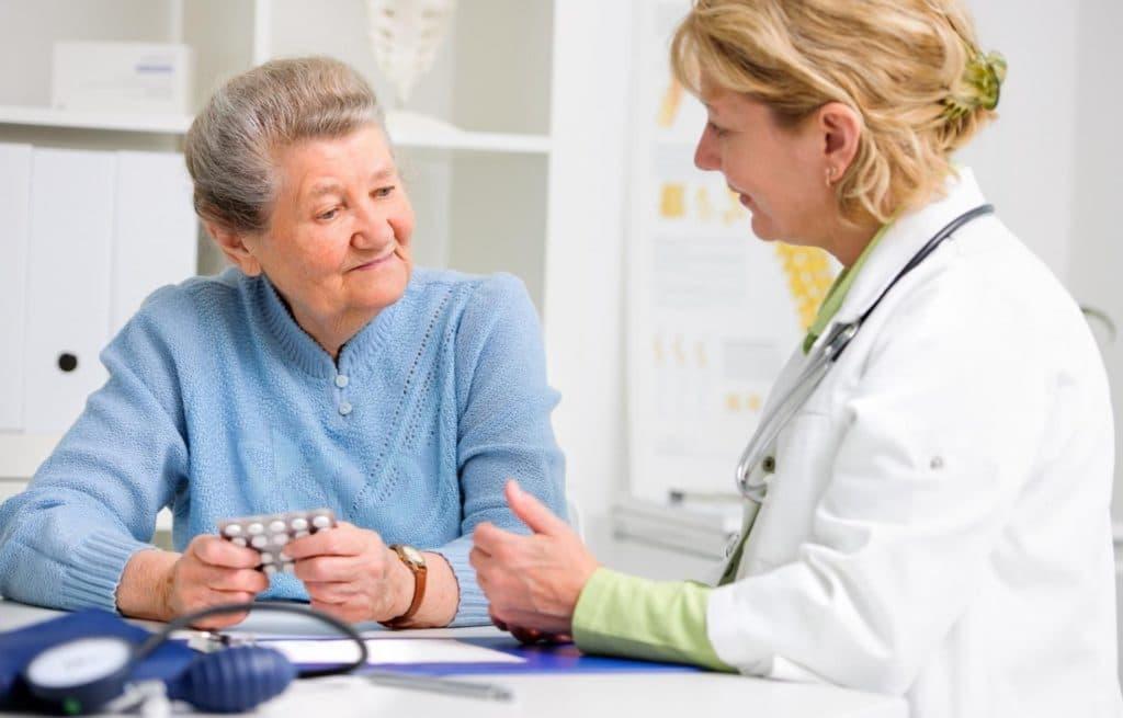 Апровель при лечении пожилых