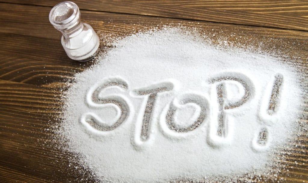Отказ от соли при повышенном давлении