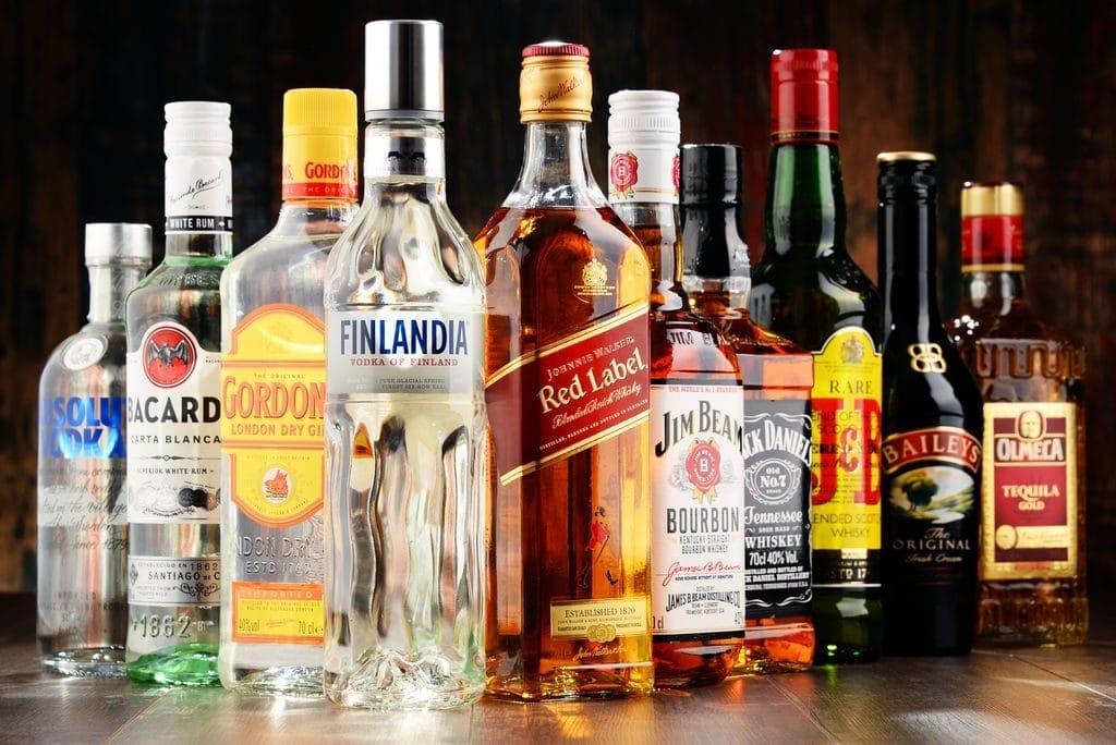 Крепкие напитки при давлении