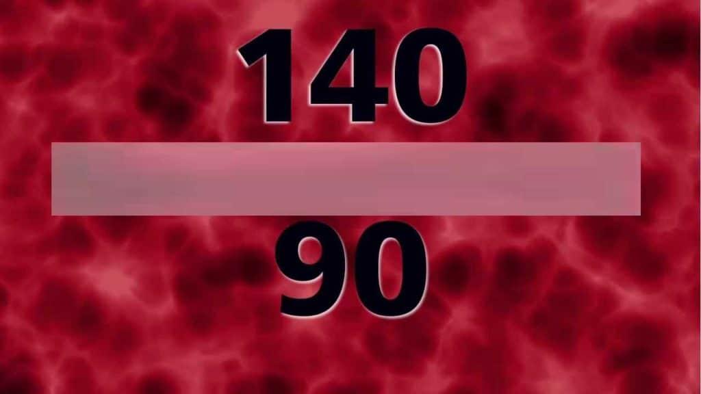 Давление 140 на 90: особенности и лечение