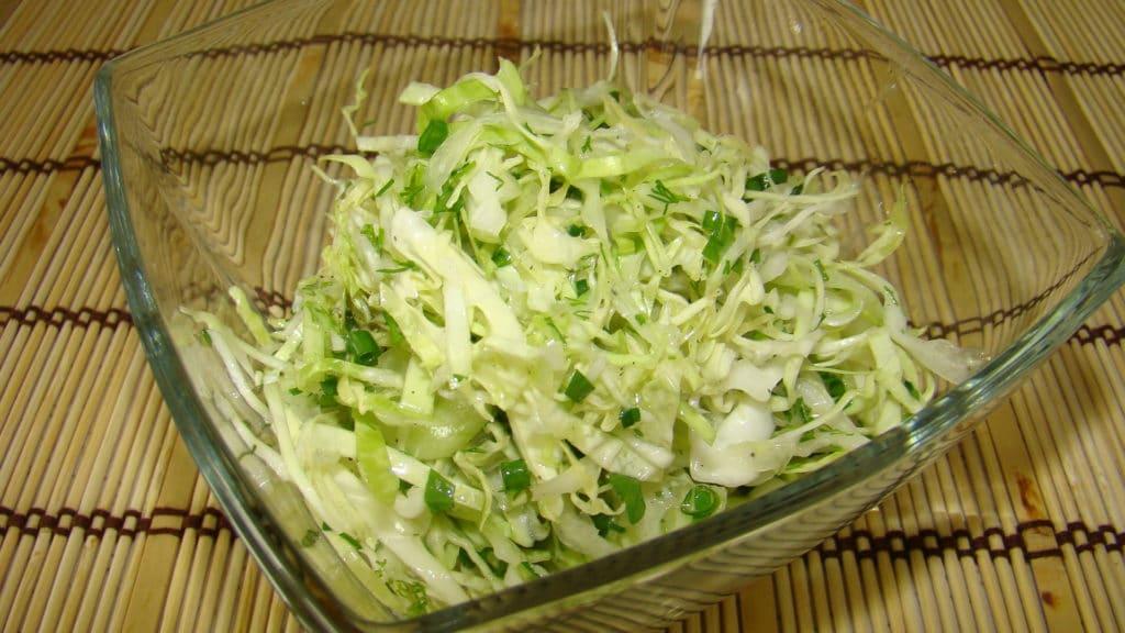 Салат из капусты при гипертонии