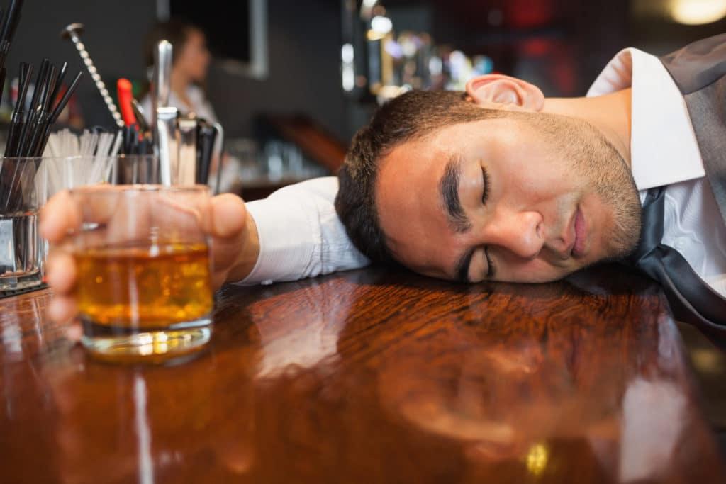 Алкоголь при низком давлении