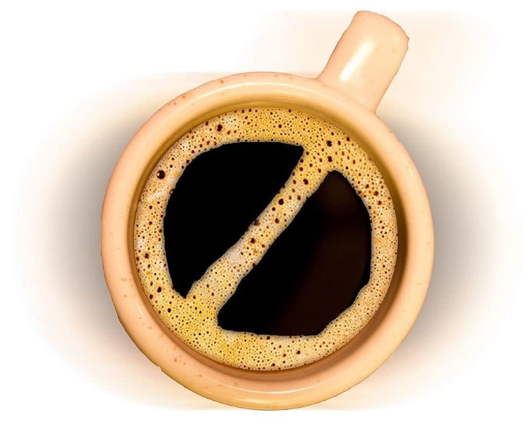 Отказ от кофе при высоком нижнем давлении