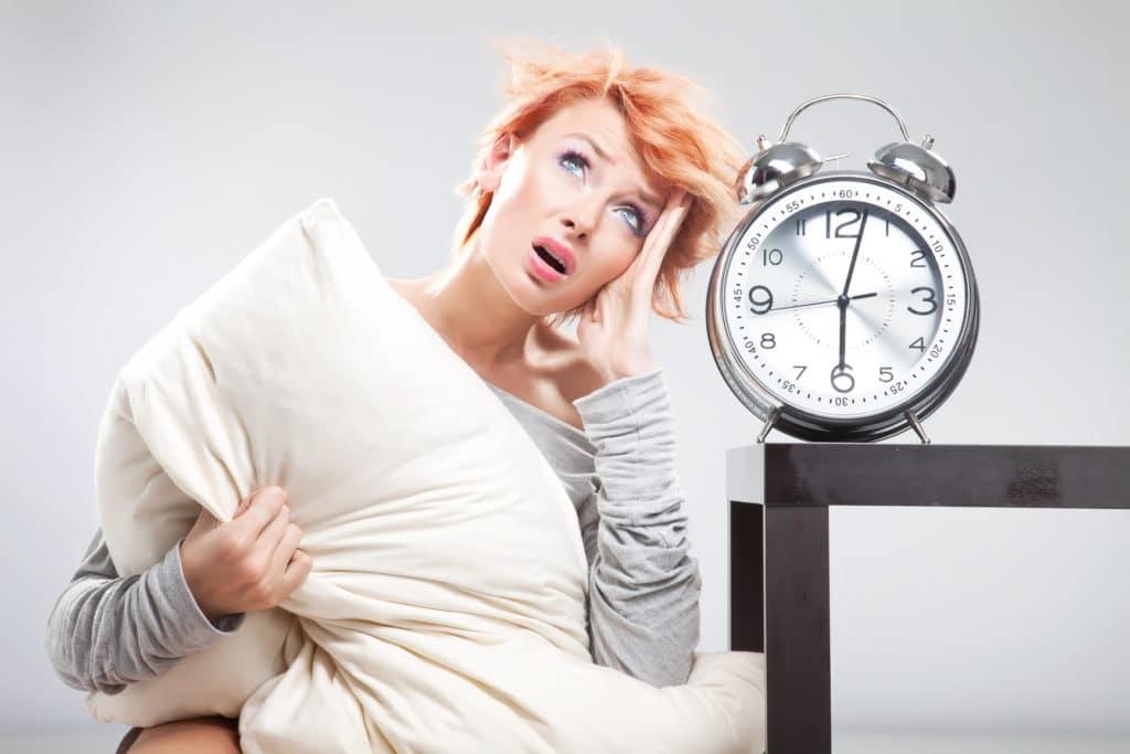 Низкое верхнее давление из-за недостатка сна