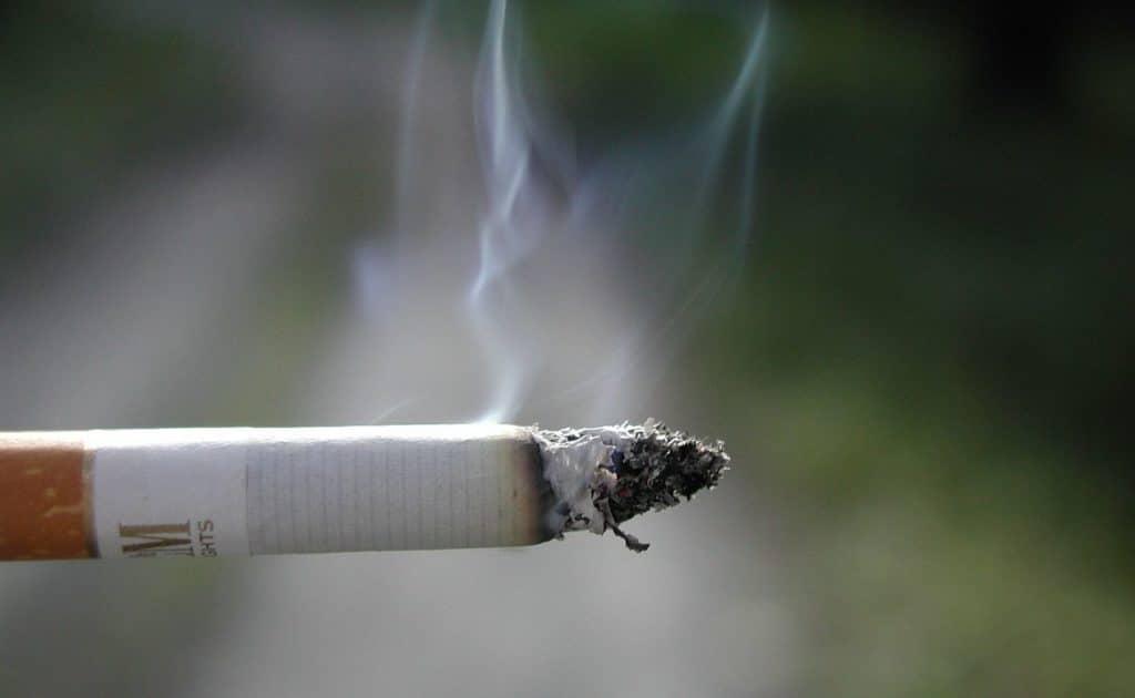 Курение причина высокого давления