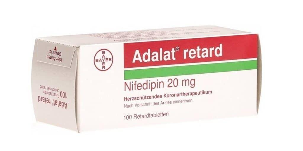 Нифедипин при гипертоническом кризе