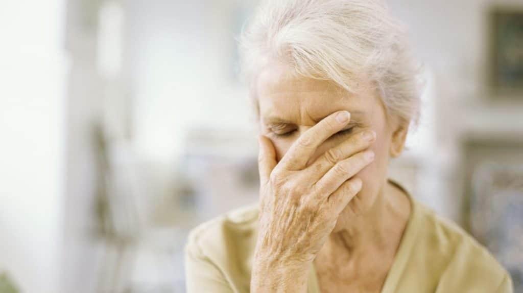 Ортостатическая гипотензия при старческой деменции