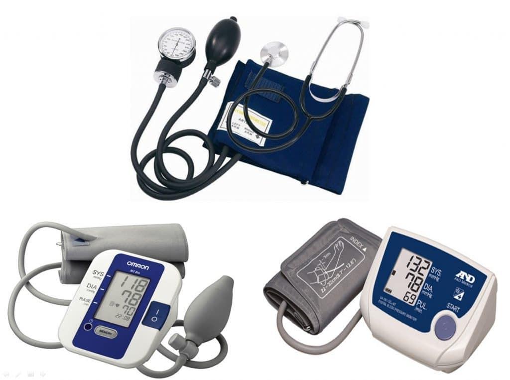 Виды тонометров для измерения кровяного давления