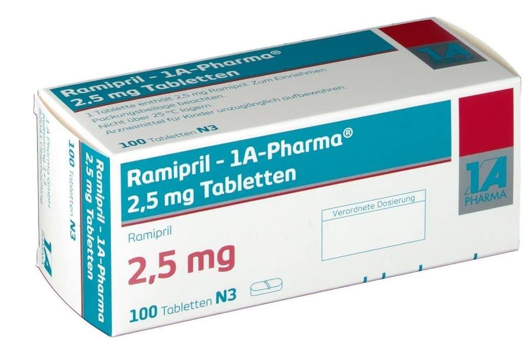 Рамиприл 2,5 мг