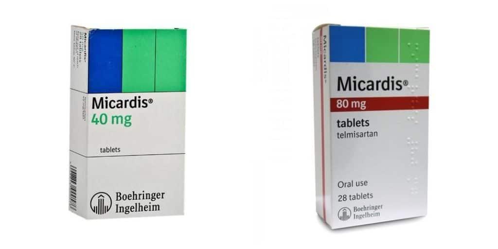 Микардис 40 и 80