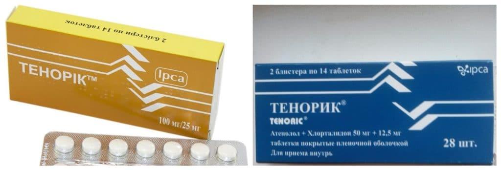 Дозировка препарата Тенорик