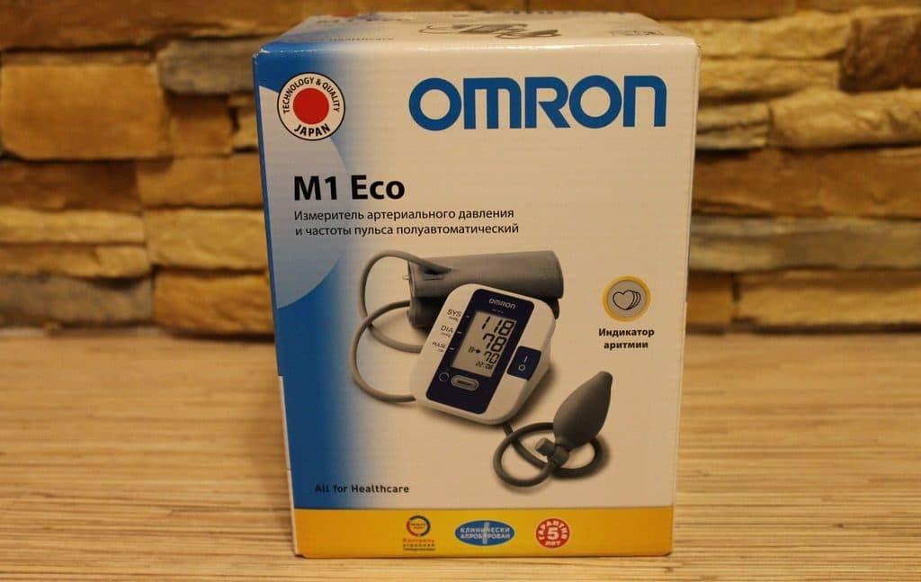 Полуавтоматический тонометр OMRON M1 Eco
