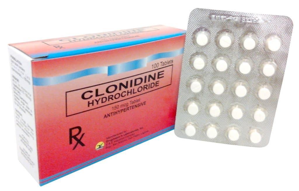 Таблетки Клонидин