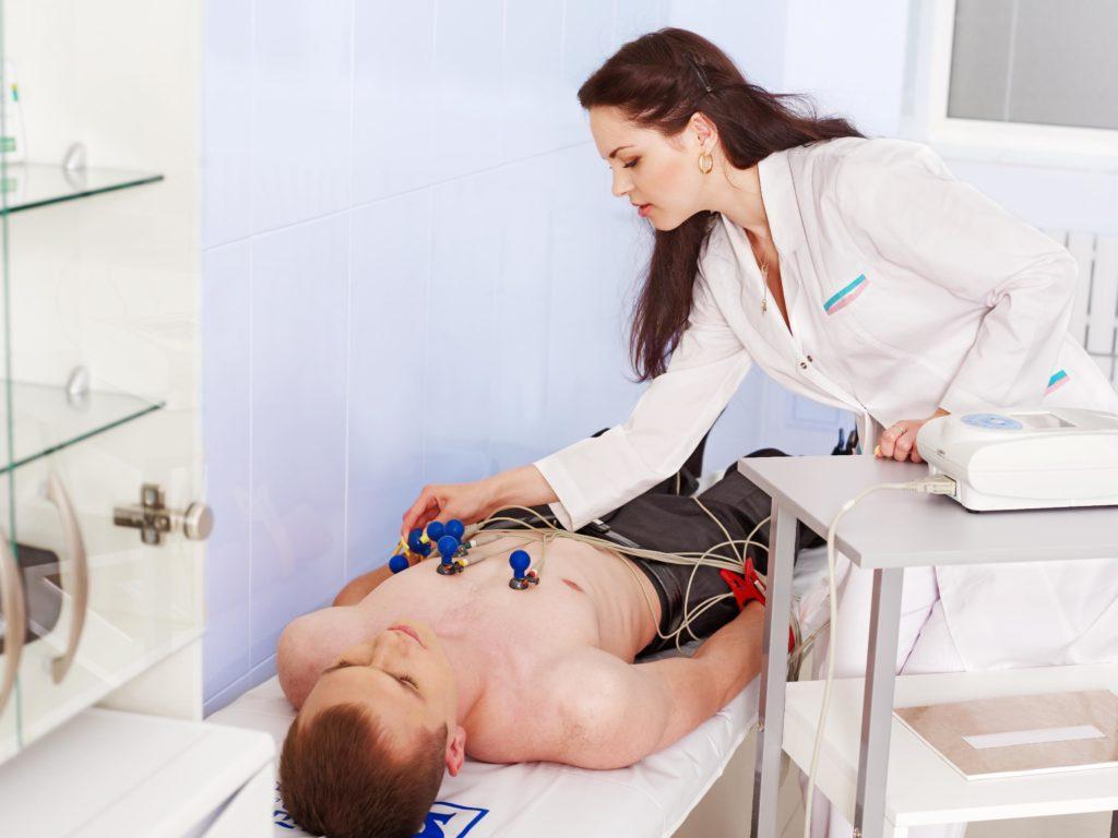 Снятие ЭКГ при аритмии