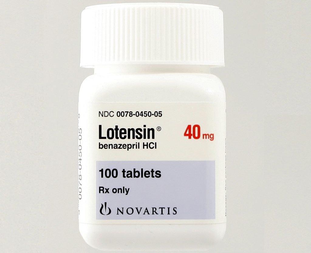 Лотензин: дозировка и способ применения препарата