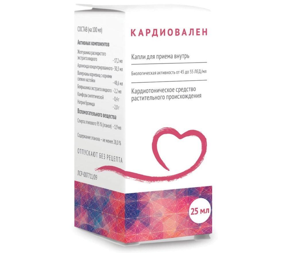 Кардиовален при аритмии сердца